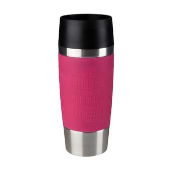 Tefal Travel Mug RVS/Framboos