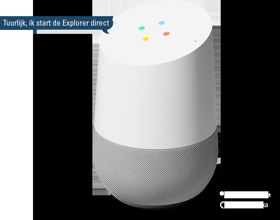 Google Assistant visual