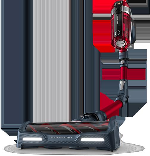 Main visual of Explorer vacuum cleaner robots range