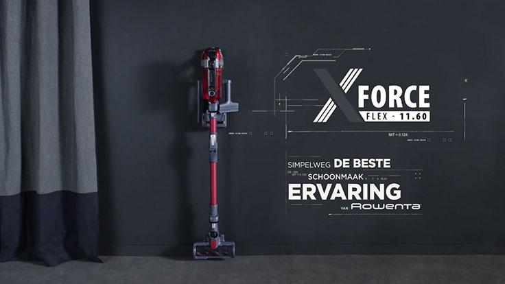 Rowenta X-Force Flex 11.60 Steelstofzuiger