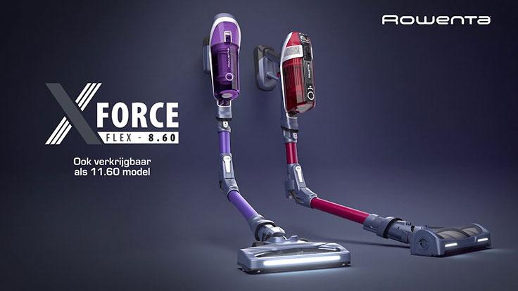 Rowenta X-Force Flex 8.60 Steelstofzuiger